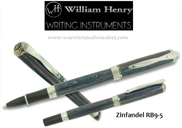 William Henry Zinfandel RB9-5 Pen (Online Only)