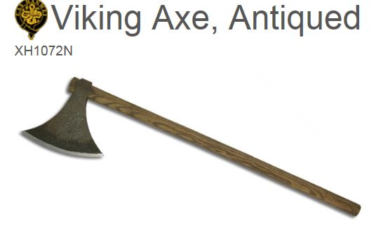 Hanwei Viking Axe Antiqued XH1072N