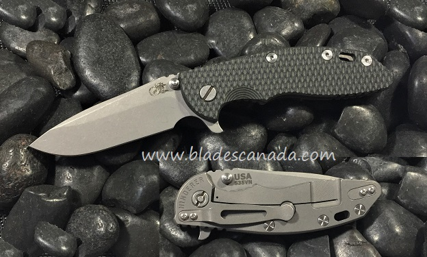 Hinderer XM-18 3.5 Spearpoint WF - Green Black G10 (Online Only)