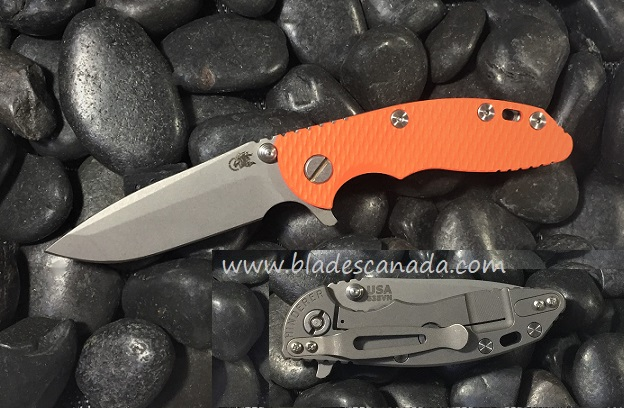 Hinderer XM-18 3.0 Spanto WF - Orange G10 (Online Only)
