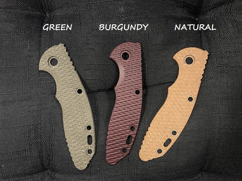 Hinderer Micarta Handle Scale for XM-18 3.0