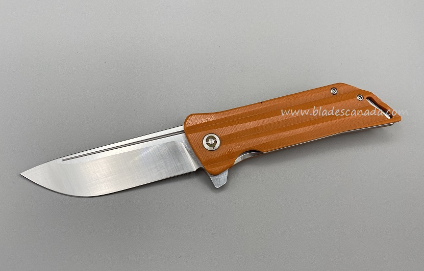 YOBO T18105O 'The Meg' Satin VG-10 Folder - Orange G10