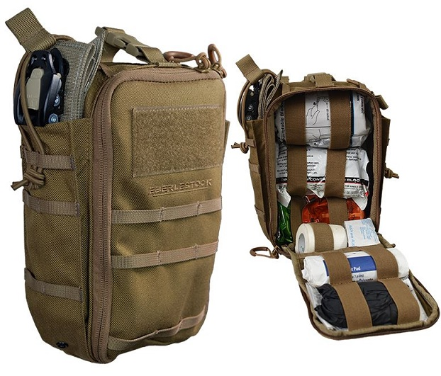 Eberlestock A2FK IndiTAK Medical Pouch - Coyote