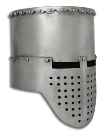 GDFB Crusader Flat Top Helmet 14G - Large AB0360 (Online Only)