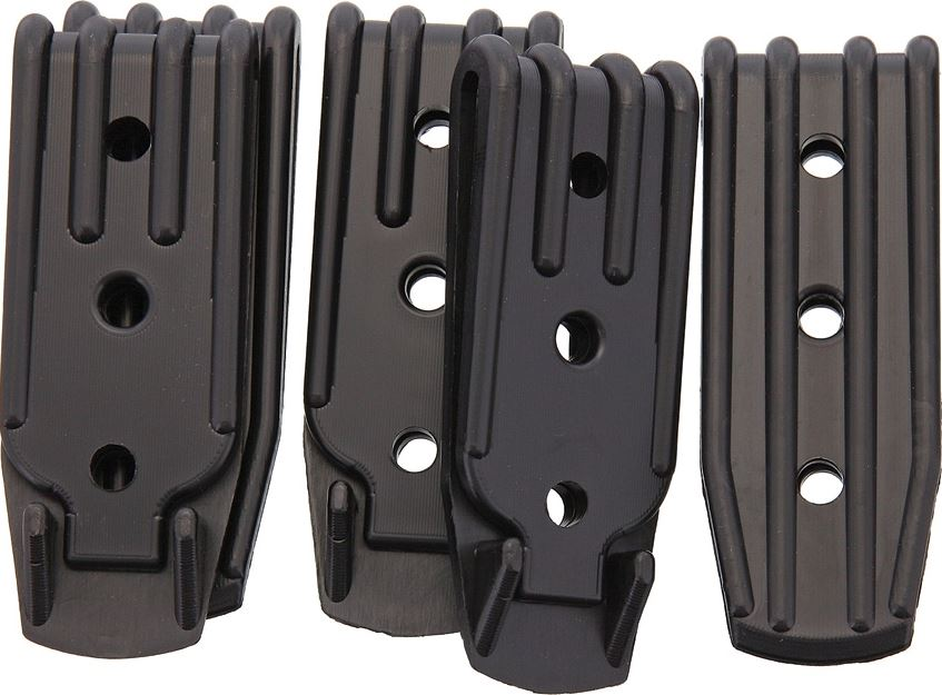 Armory Plastics Belt Clip 3 Hole - 5 Pack