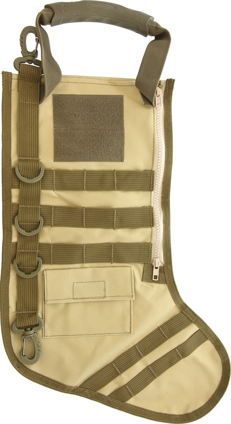 Carry All MOLLE Tactical Stocking - Desert Tan (Online Only)