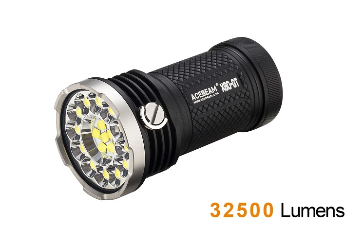 Acebeam X80GT Searchlight - 32500 Lumens