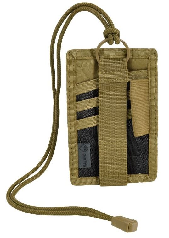 Hazard 4 Badger Patch/Badge Organizer - Coyote