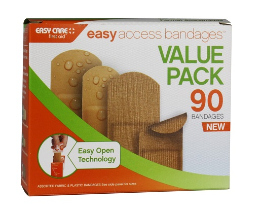 Adventure Medical Easy Access Bandages - 90 Pack