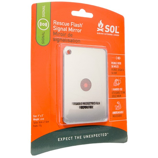 Adventure Medical SOL Rescue Flash Mirror (Online Only)