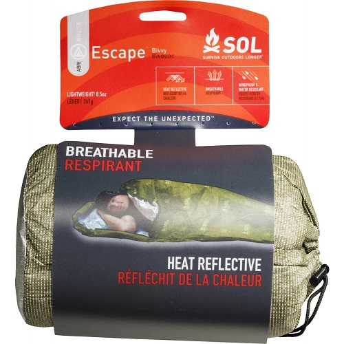 Adventure Medical SOL Escape Bivvy - OD Green (Online Only)
