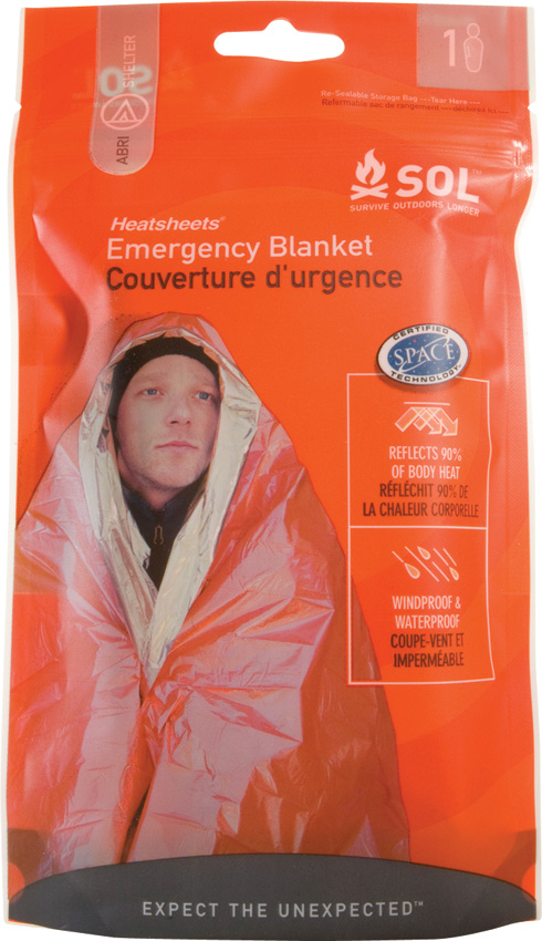 Adventure Medical SOL Emergency Blanket [1 Person] (Online Only)
