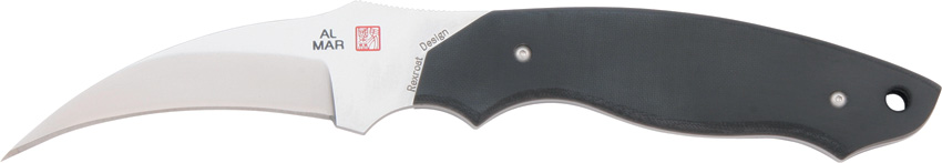 Al Mar AMBU22 Backup 2 Talon w/Black Leather Sheath