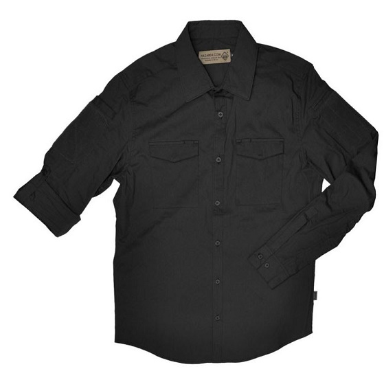 Hazard 4 Colonial Shirt - Black