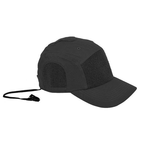 Hazard 4 Privateer Panel Cotton Cap - Black