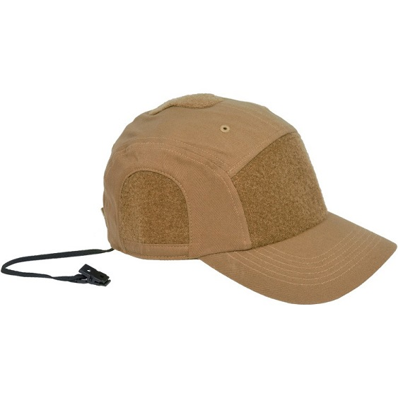 Hazard 4 Privateer Panel Cotton Cap - Coyote