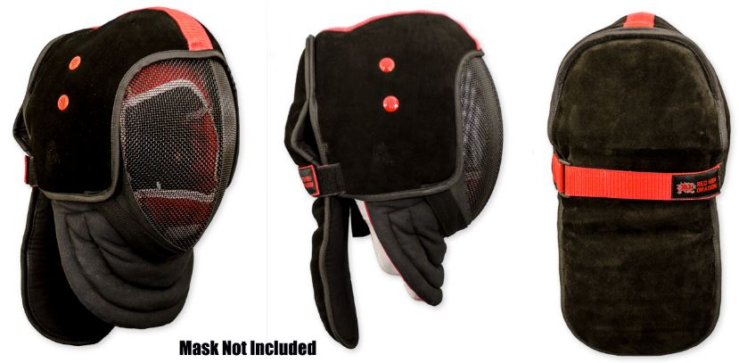 Red Dragon Armoury Hema Leather Mask Over Lay L/XL AR7032