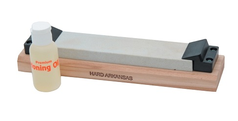 Arkansas AC43 Whetstone Hard w/ Mounted Angle Guide