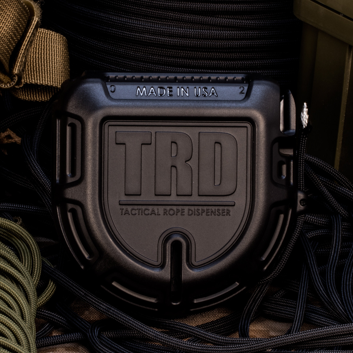 Atood Rope TRD Tactical Rope Dispenser - Black