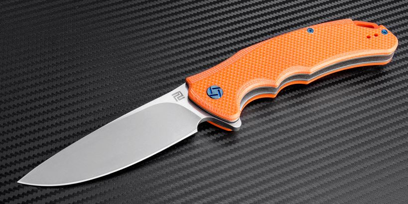 Artisan Tradition, D2 Stonewash, Orange G10, 1702POE
