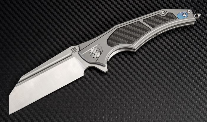 Artisan Cutlery 1813GGYM Apache Nomad M390 Framelock-Gray