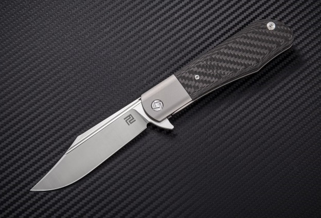 Artisan Cutlery 1834GGY Hyperion S35VN - Grey