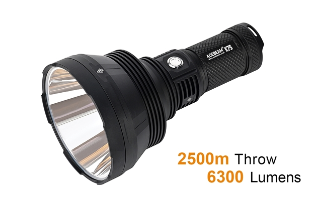 Acebeam K75 Ultra-throw Searchlight White - 6300 Lumens (Online Only)