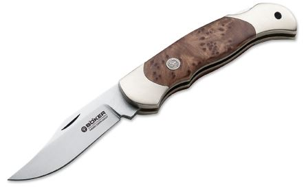 Boker 112402 Boy Scout Folder - Thuya Wood (Online Only)