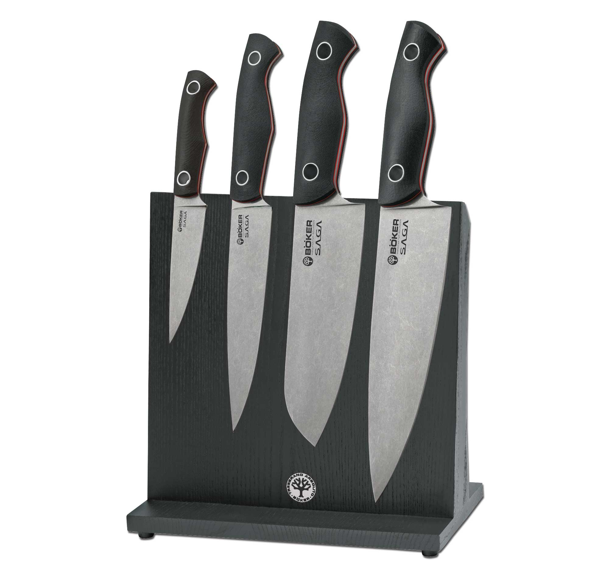 Boker Germany 130467SET Saga Block Set Stonewash (Online Only)