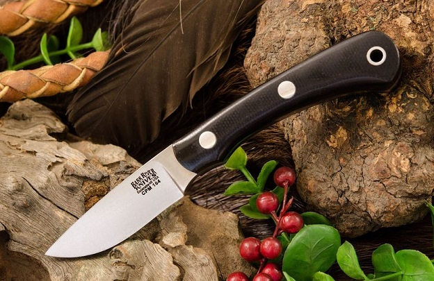 Bark River 1150MBC Pro Scalpel II CPM-154 - Black Micarta