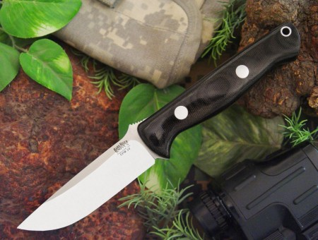 Bark River 011MBC Gunny - Black Micarta