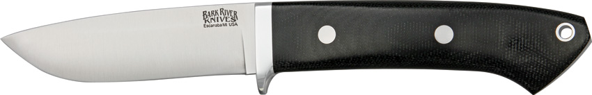 Bark River 2125MBC Classic Drop Point Hunter - Black Micarta