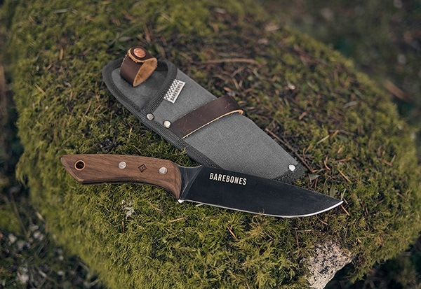 Barebones no.6 Field Knife w/ Sheath