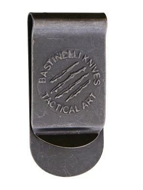 Bastinelli Tactical Art Money Clip - Black Stonewash