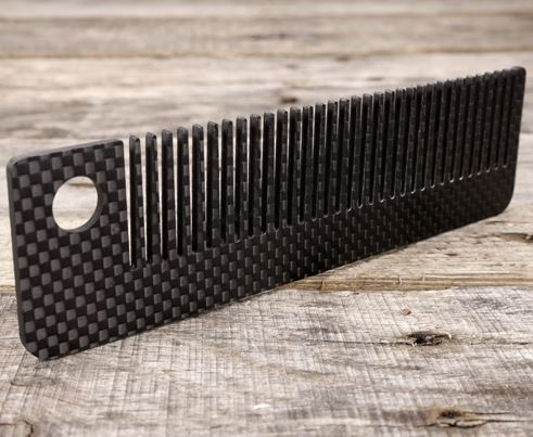 Bastion Carbon Fiber Ultralight EDC Comb