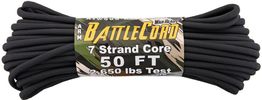 ARM BattleCord 2650 lb, 50 Ft. - Black