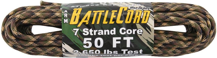 ARM BattleCord 2650 lb, 50 Ft. - Ground War