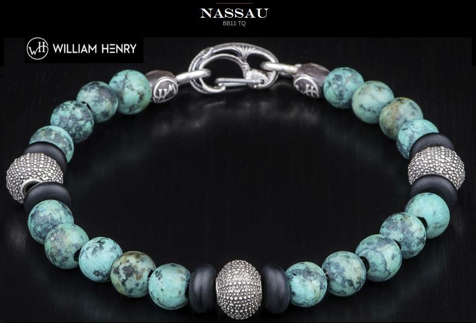 William Henry BB11TQ Nassau Bracelet