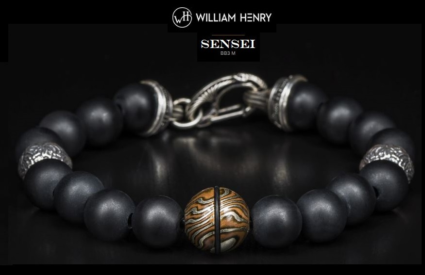 William Henry BB3M Sensei Bracelet Makume Gane