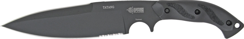 Blackhawk 15TT10BK Tatang Partially Serrated