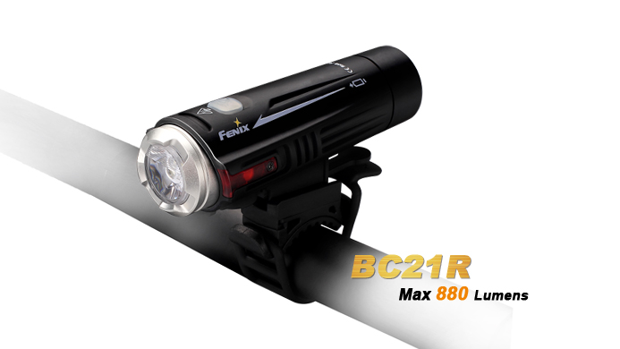 Fenix BC21R Bike Light Rechargeable - 880 Lumens