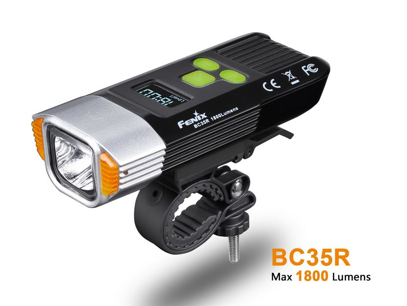 Fenix BC35R Bike Light - 1800 Lumens