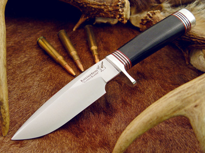 Blackjack 125BM Classic Model 125 - Black Micarta