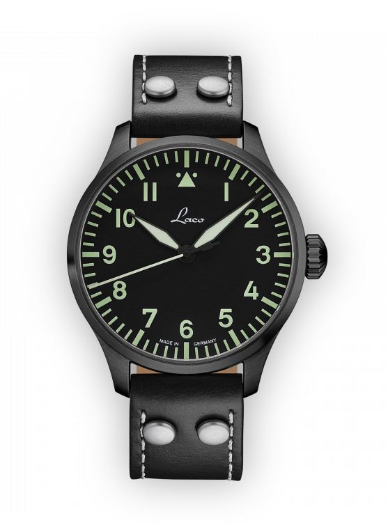 Laco Basic Pilot Watch 42mm Automatic Altenburg 861759.2 Type A