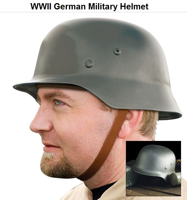 German Replica WWII Military Helmet