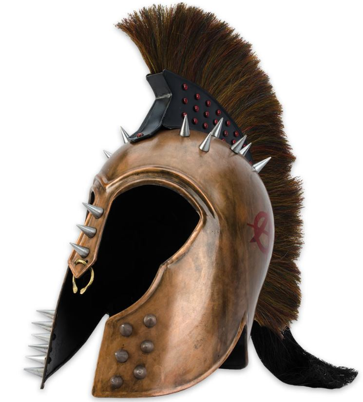 Punk Trojan Helmet 18 Gauge Steel (Online Only)