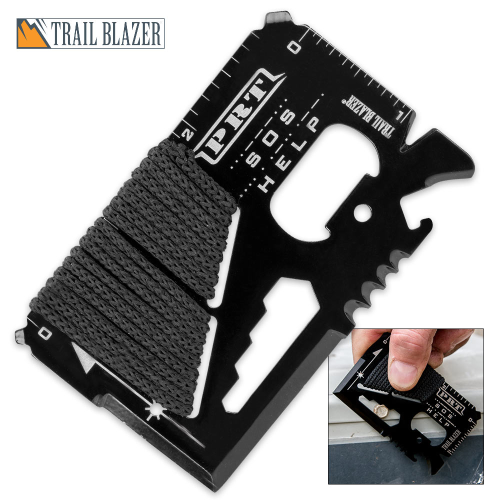 Trail Blazer Pocket Wallet Rescue Tool Card