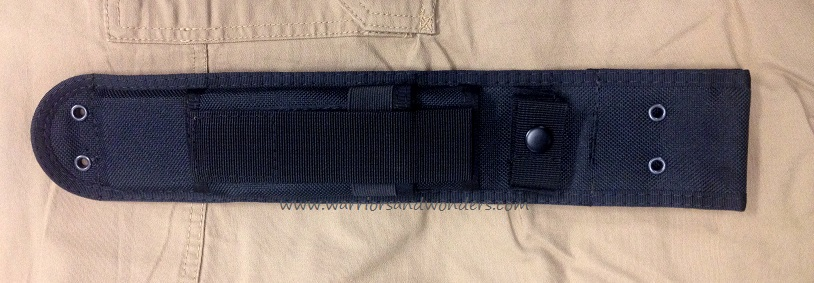 Ka-Bar BK7S Black Heavy-Duty Polyester Sheath for BK5 or BK7