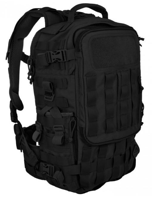 Hazard 4 Second Front Pack - Black