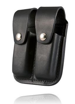 Boston Leather 5601 Double Mag Holder for 9mm/.40
